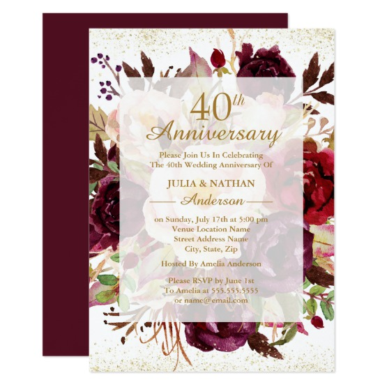 Anniversary Party Invite Archives Inspire Me Lounge